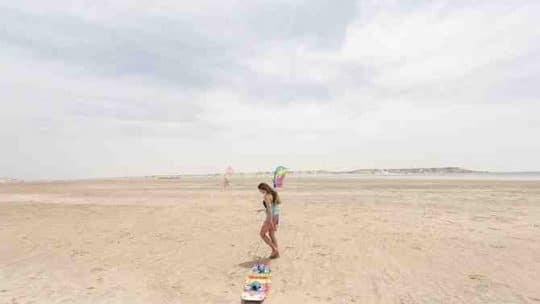 Comment decoller une aile de kite ?