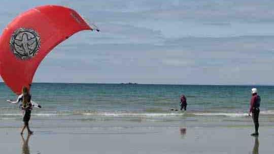 Comment piloter une aile de kite ?